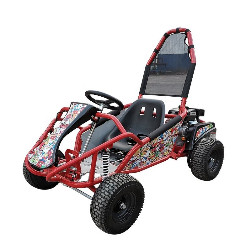 2020 high quality children's petrol kart cheap 200cc mini rc go karts for kids two/dual seats for sale