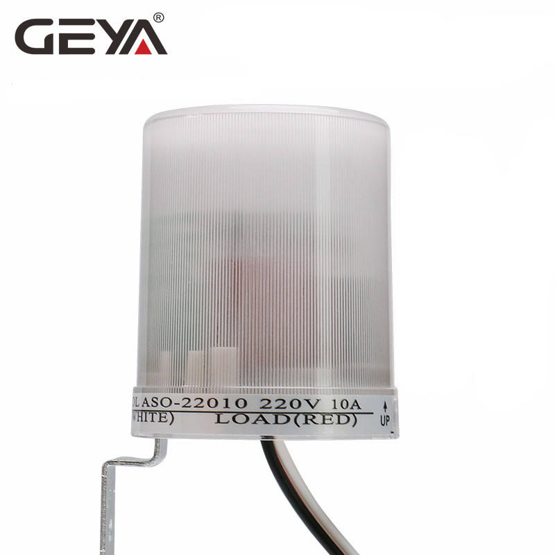 GEYA ASO Photo Sensor Light Sensor Operated Auto Photocell Street Photoelectric Light Control Switch Max 30A