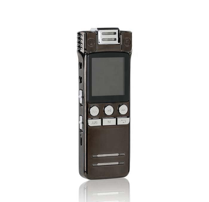 Portátil de tarjeta de crédito regalo Mp3 reproductor de 8Gb Mini grabadora de voz Digital para la clase