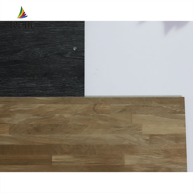 Relle Solid high quality vinyl tile flooring spc planks