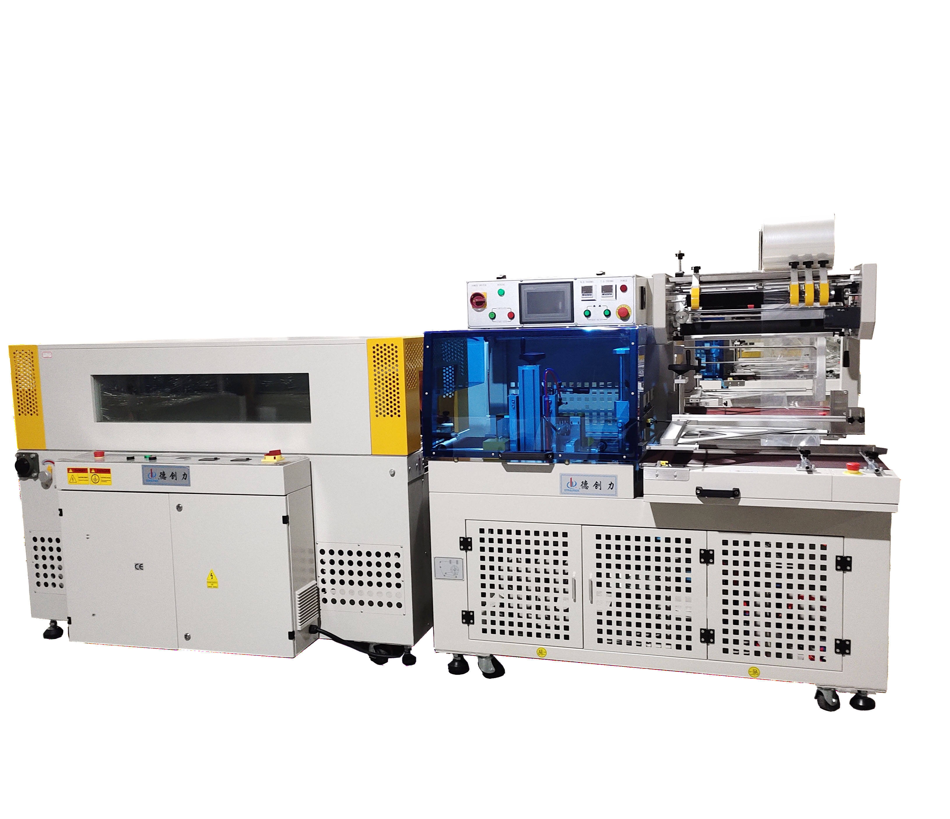 Fully Automatic Shrink Film Heat Tunnel Wrapping Packaging l-sealer Machine l Bar Shrink Wrap Machine Heat Sealer