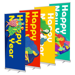 Digitale Print Standaard Maat 80*200 100*200 120*200 cm Rollup Display Reclame Roll Up Banner stand