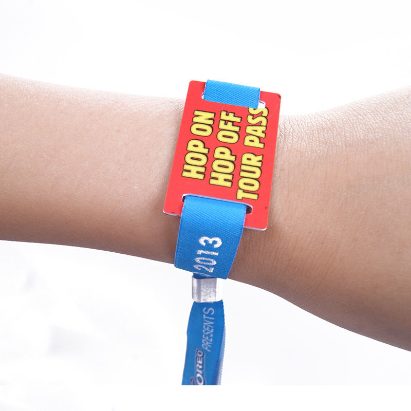 Made in China Aangepaste Festival Hand bands Rfid Polsband Bangle