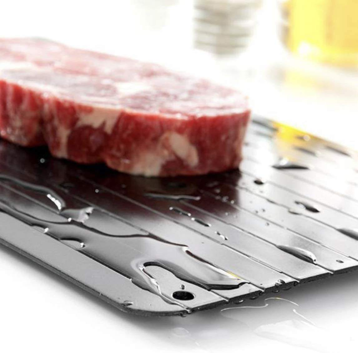 Defrosting Tray Meat Thawing Board Eco Friendly Defrost and Thaw Meat Quick and Safe