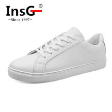 Genuine Leather Upper Material Authentic Wholesale White Sneakers Men Women
