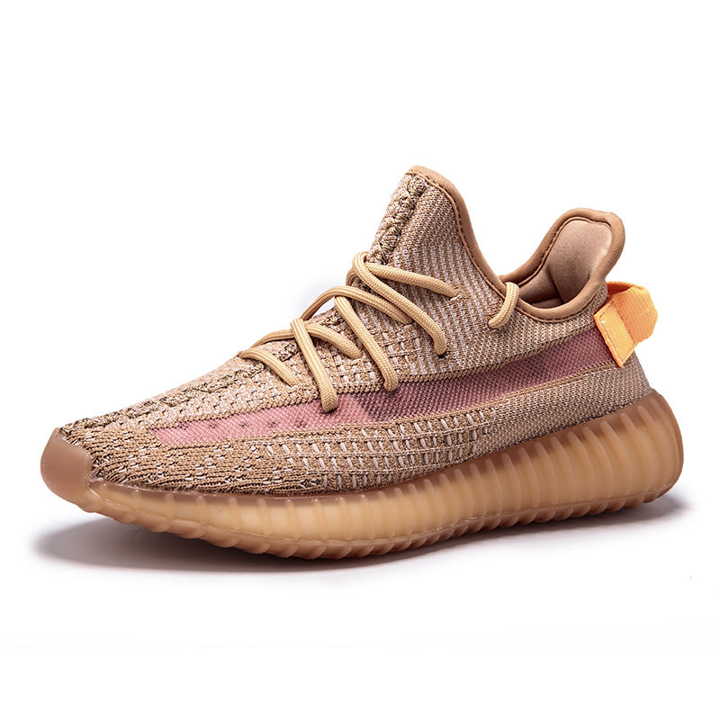 Hot Selling Custom Brand Logo 350 Yeezy Shoe Knitting Sports Campus Running Shoes 350 V2 Sneakers Yeezys Shoes