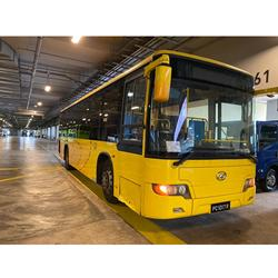 High Quality Used Bus Coach HIGER KLQ6108GQ 6.7 MT Euro 4 With 41 Seaters & Diesel Fuel Type Year 2011 Very Luxury