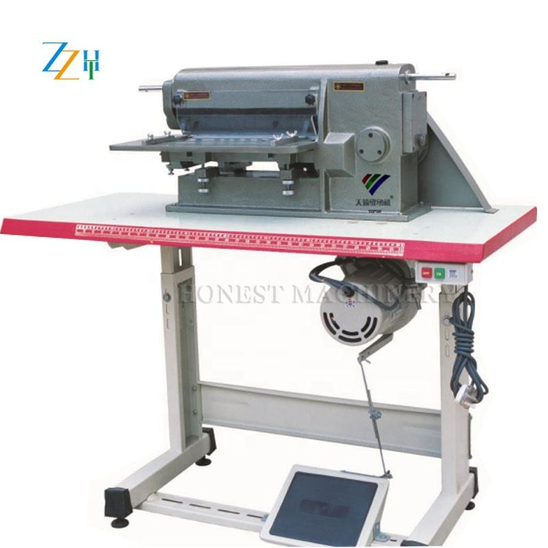 Low Price High Quality Leather Cutter / Leather Strip Cutting Machine / Leather Processing Machine