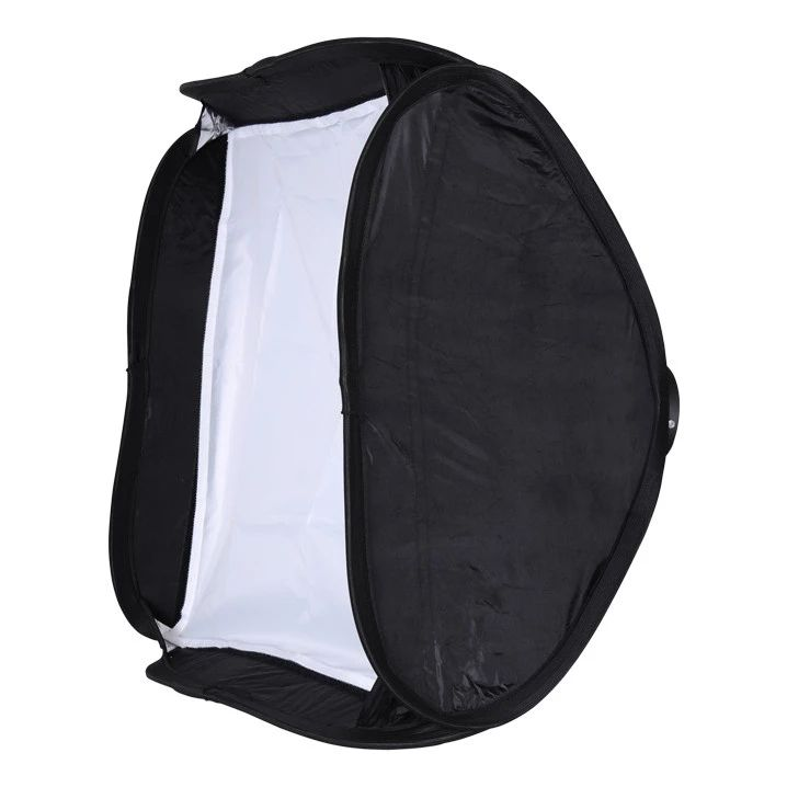 Mini Quick Set-up Softbox 40x40cm Softbox Soft Box with L-Type bracket Perfect for Photographers Often Change Places