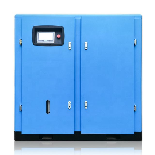 110kw 150hp 230V/380V 50Hz/60Hz Gratis Air Levering 523-742cfm 14.8-21m3/Min Zware duty Schroef Compressor