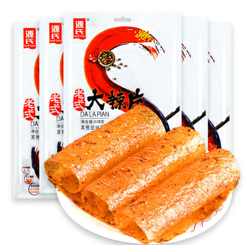 148g Genji soybean products list Old-Fashioned Big Spicy Slice
