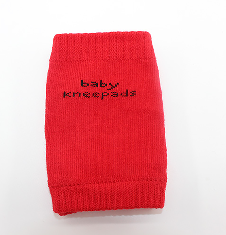 Red Color Catton material high quality baby leg warmers knee pads