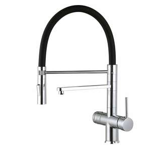 Flexible kitchen faucet 3 way Spring faucet for RO Water system