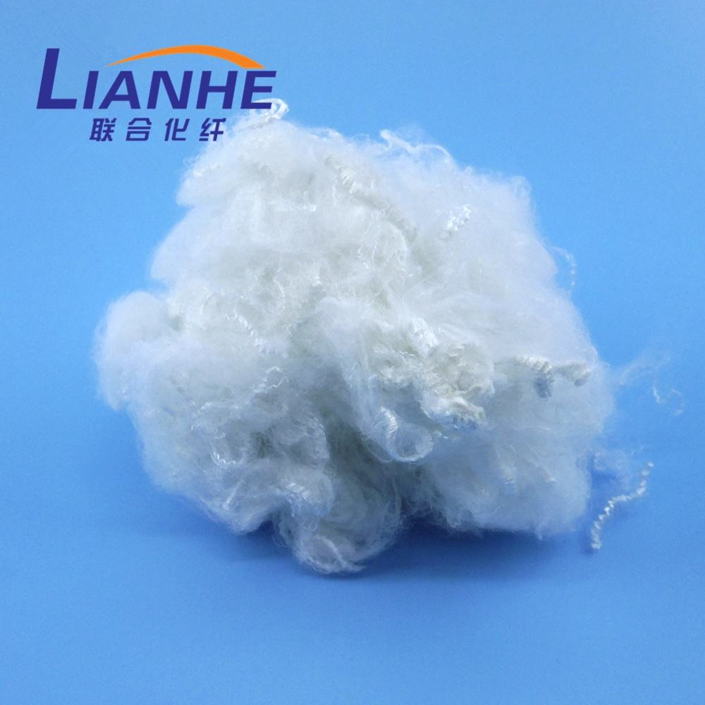 White Recycling Polyester Fiber PET Fibre Price