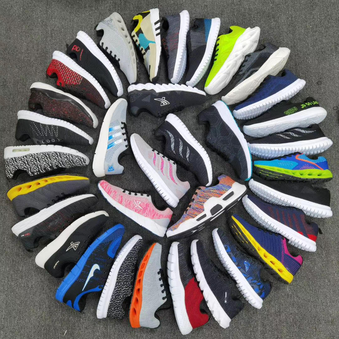 New design factory wholesale custom Summer casual fashion comfortable bulk Stock shoes sneakers for men