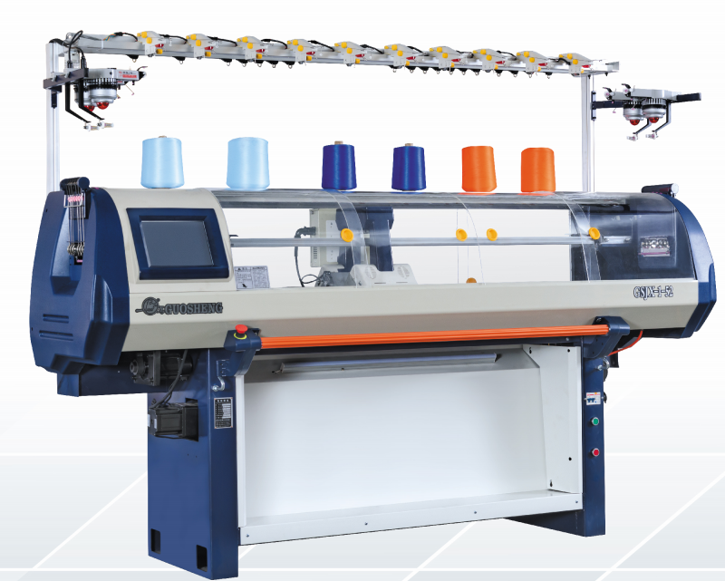 China Industrial Computerized Sweater Collar Flat Flat Knitting Machine