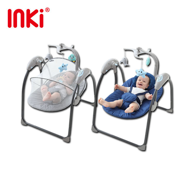 Baby Swing Cradle Baby Sleep Electric Cradle Bed Cradle Automatic Rocking Chair Smart Coax Baby Bed