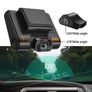 2019 Latest AQP Car Camera 4K Dash Cam Mirror 1080P Front and Rear Camera with WIFI GPS 24 Months Warranty