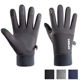 Sport Cycling Winter Gloves Touch Screen Full Fingers Customized Black Winter Gloves