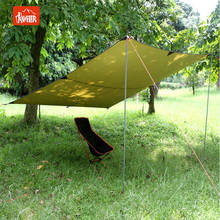 Pop Up Tarp Tent Shelter Waterproof Tarp for Outdoor Activities