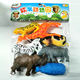 Natural Science Zoo Mini Animal Figure Set Plastic Educational Toy