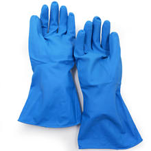 best selling blue full coating protective  resistance cleaning service household dish chemical oil processing safeti hand glove