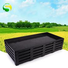 Transplanter Biodegradable Plastic  Seedling  Germination  rice  Seed Tray