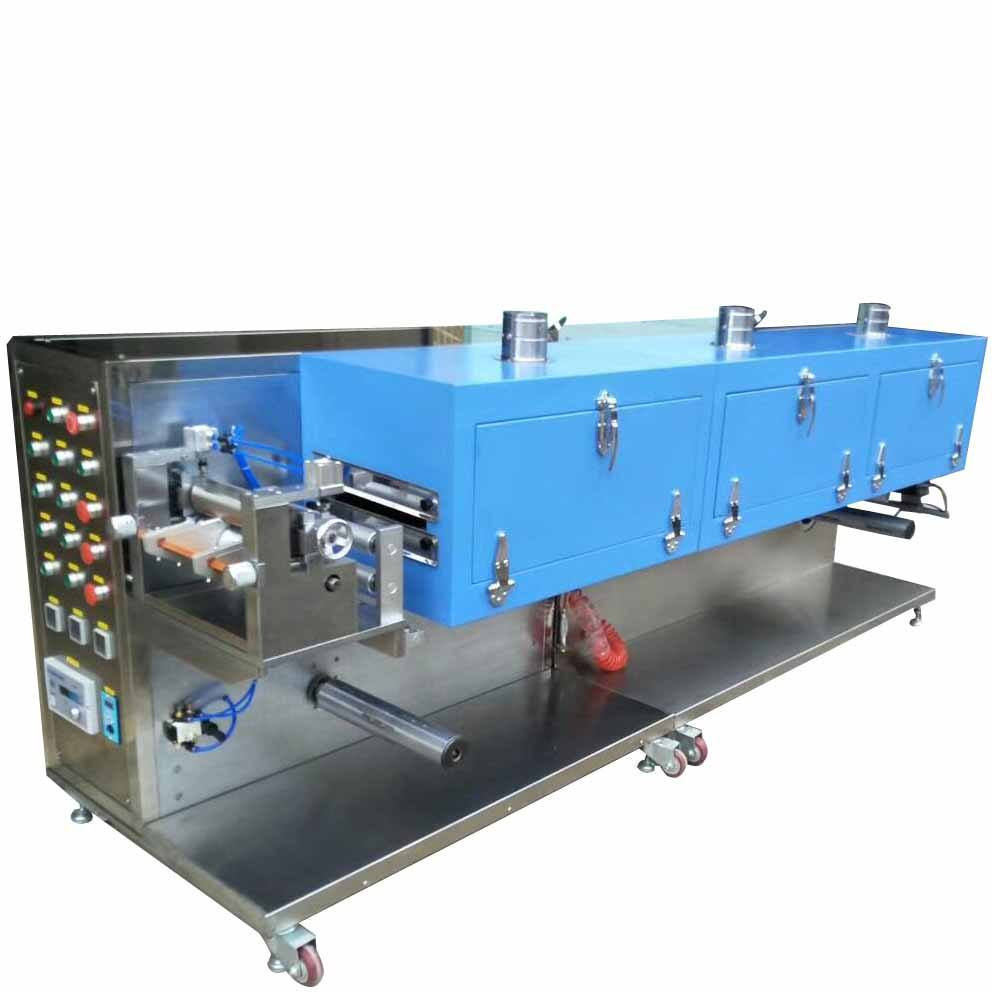Lab Roll To Roll Battery Electrode Continuous Coater Coating Machine With Drying Oven Customizable
