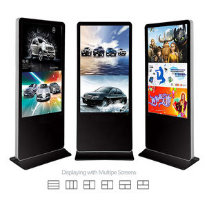 Heißer Verkäufer Multi Zoll Vertikale Ad Boden Stehen Werbung Tv Wifi Media Player Led Digital Signage Display Monitor