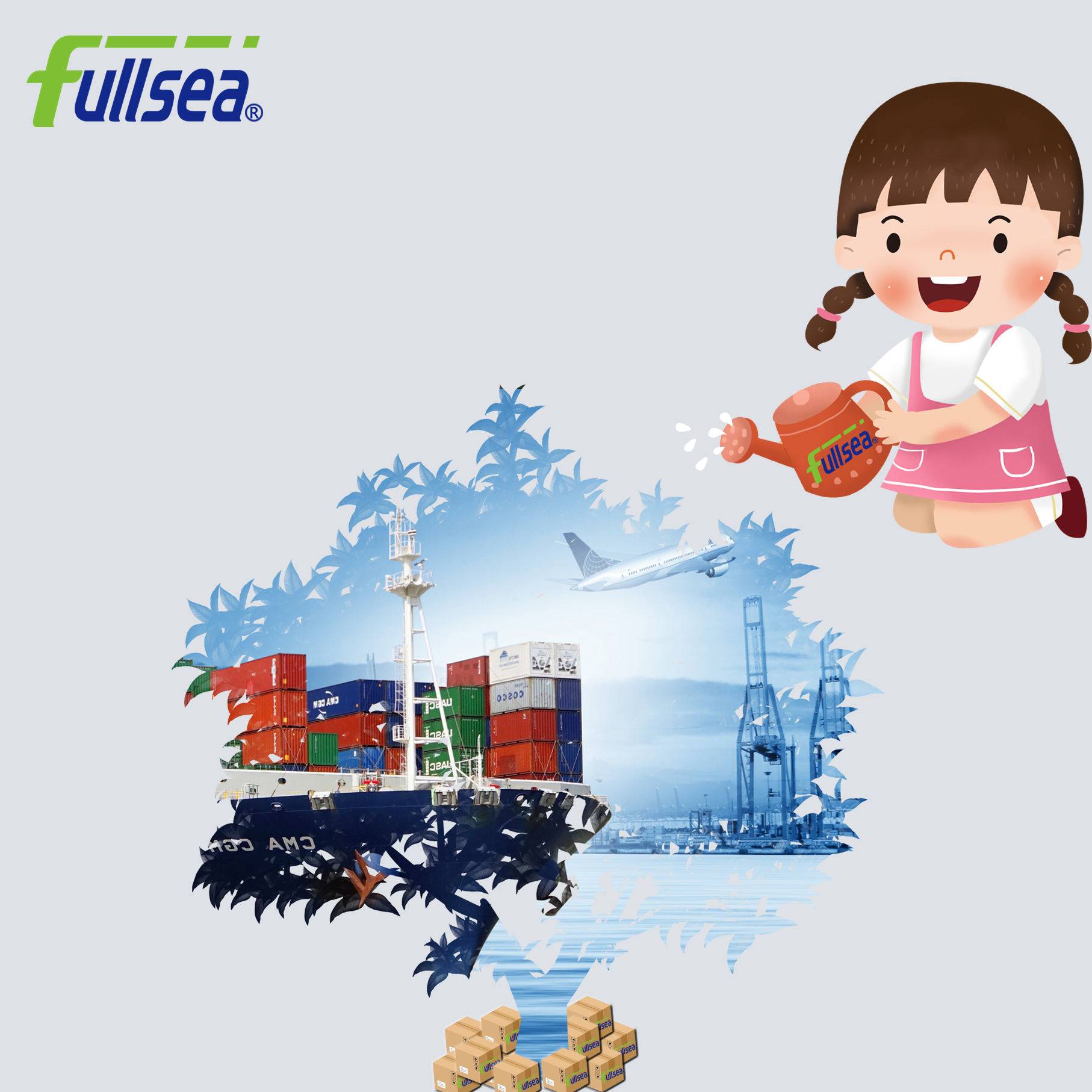 top freight forwarder in China handle nomination cargo from several factories in China to Paris France