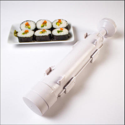 Rice Ball Maker Household Cylindrical Barrel Sushi Mold Model DIY Seaweed Rice Tool Sushi Bazooka Machine