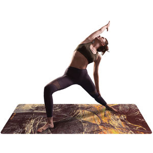Wholesale Natural Outdoor Printed Eco-Friendly Suede Yoga Mat