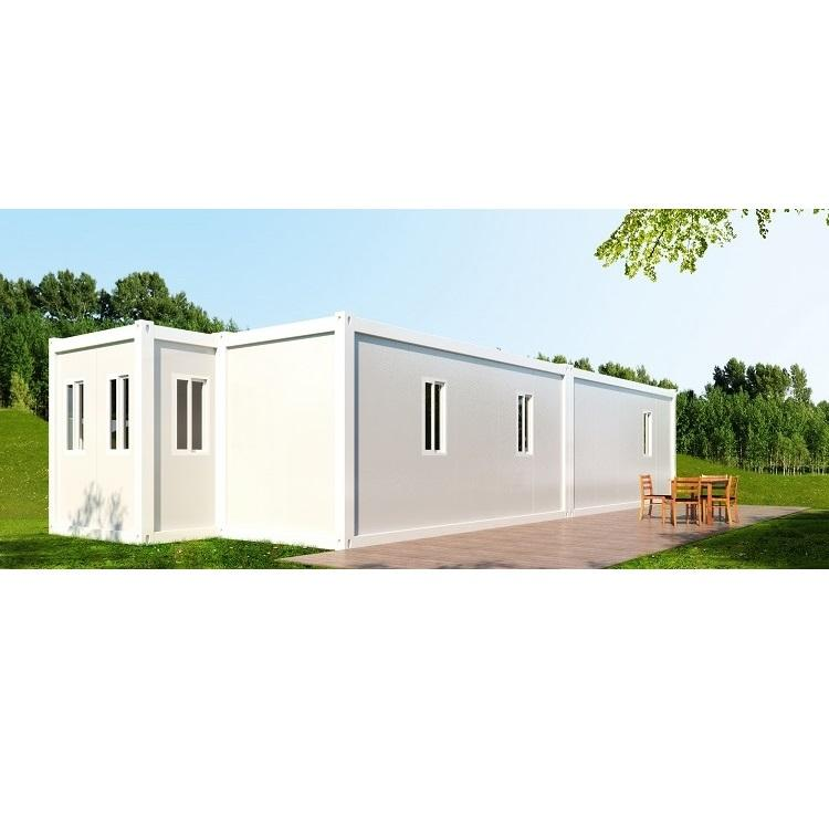UPS new style container house complete modern steel structure home house villa container housing with the plans