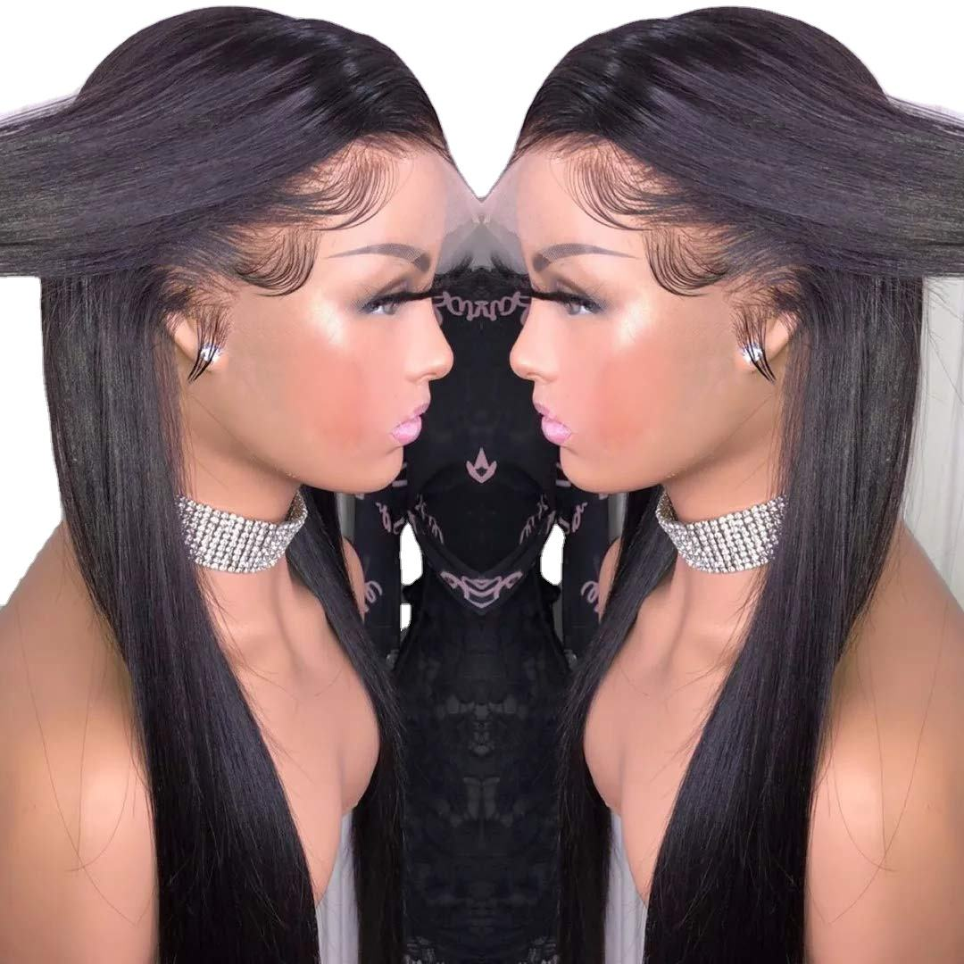 Lagogo Hair Hot Selling HD Lace Wig Brazilian Remy Hair Top Closure High Quality Invisible Lace Front Wig Caps Bulk
