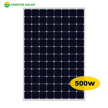 TOP 10 alibaba supplier 350w 400w 500w pv mono solar panel