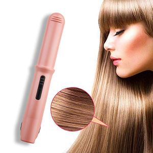 OEM FLAT Iron Straightener ผม planchas de Cabello แบนแบนจอแสดงผล LCD Straightening Smoothing Hair Treatment FER A lisser