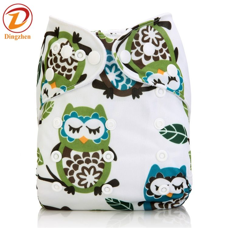 Eco friendly Beautiful fashional Polyester PUL waterproof Cloth Nappy baby Washable diaper cover