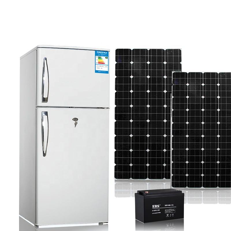 Solar DC Fridge 180L RV refrigerators 12V/24V Car refrigerator fridges household home
