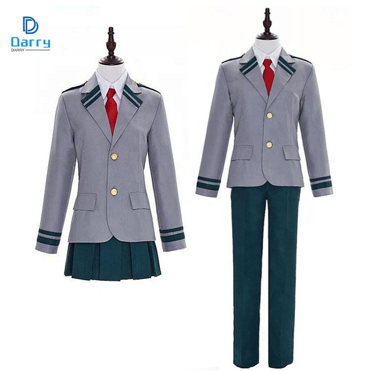 Disfraces de My Hero Academy para Halloween, uniformes escolares, Carnaval, Cosplay