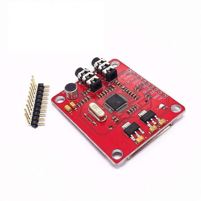 A3-- VS1053 VS1053B MP3 Module Breakout Board With SD Card Slot VS1053B Ogg Real-time Recording for Arduino UNO