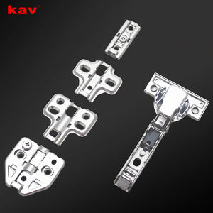 hidden door hinges 35mm cup two way 3D adjustment hinge small angle soft close hinge