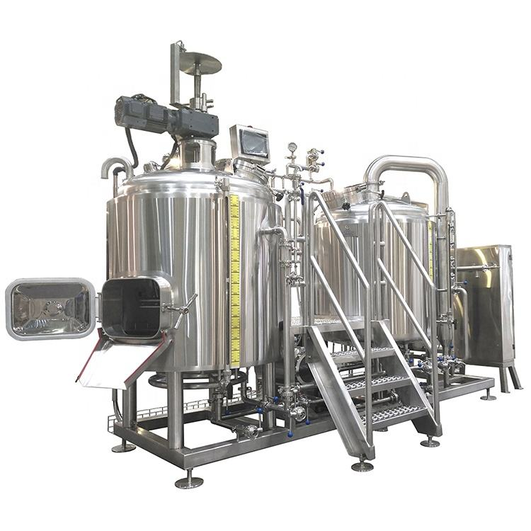 Stainless steel 304 craft beer brewery plant beer brewing equipment