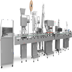 Integrated Tablets/Capsules/Pills Automatic Packing Line