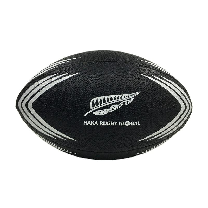 Customized Design Promotional and Match PU Rugby Ball Size 5 Match Rugby