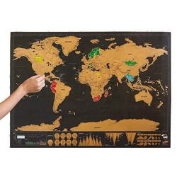 wholesale price black scratches the places you have visited luxury world map