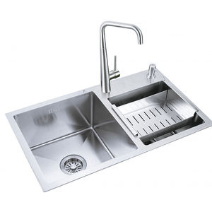 Customized high quality brushed sink kitchen brushed basin sink