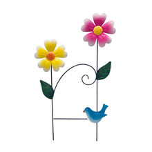 Decorative Wrought Iron Metal Flower Lawn Landscape Garden Border Fence Edging