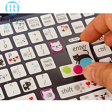 OEM Vinyl Sticker Colorful Computer Keyboard Stickers With Your Design