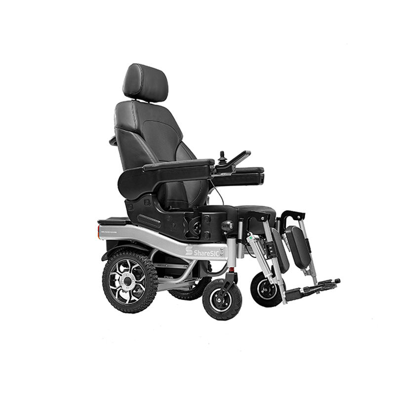 Factory Price Lying At 180 Degrees Standing Wheel Chair Motor Electric Power Wheelchair