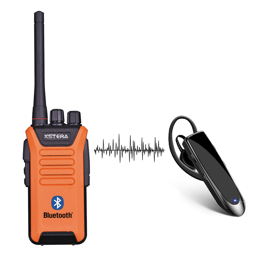 BLUETOOTH walkie talkie A8 Smartphone con BLUETOOTH Auricolare auricolare